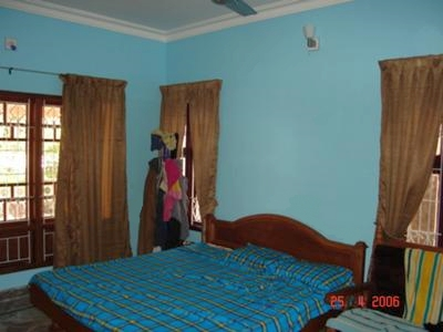 Bright Blue Wall Paint in My Bedroom