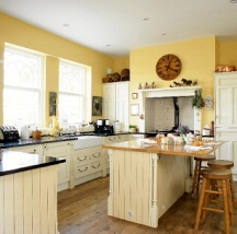 Kitchen Painting Ideas And Kitchen Design Colors By Style