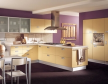 kitchen walls countertops for paint colors unusual color ideas purple