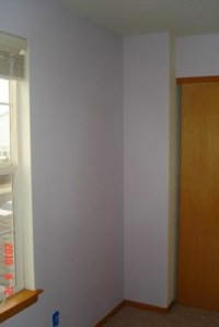 Light Lavender Paint Color in a Baby's Nursery Room