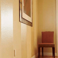 Painting Tone On Tone Wall Stripes: Glossy and Matte Sheen ...