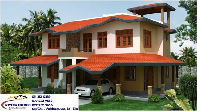 Small Modern House Plans In Sri Lanka Small Modern House Plans