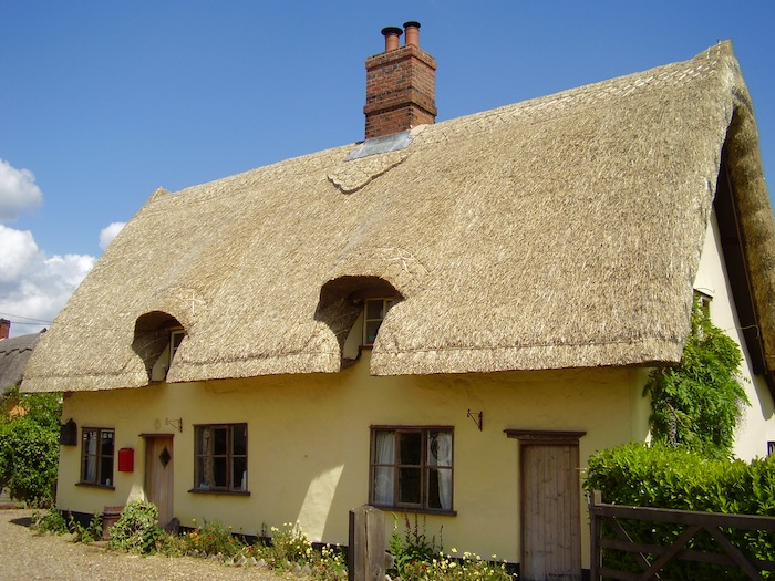 Is a thatched roof appropriate for a new build home?