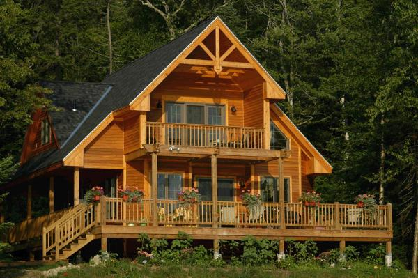Cabin House Plans Mountain Home Design & Floor Plan