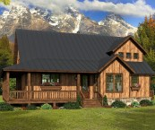 rustic small homes