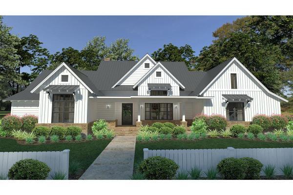 Modern Farmhouse Plan 2 393 Square Feet 3 Bedrooms 2.5