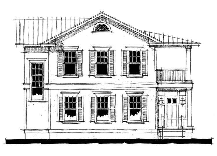 Charleston Plan: 2,400 Square Feet, 2 Bedrooms, 2.5