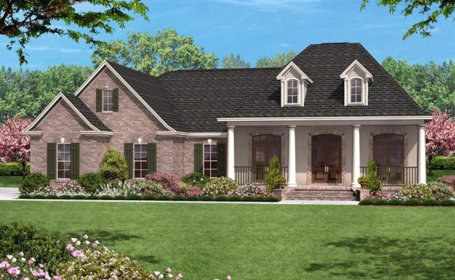 French Country Plan 1 500 Square Feet 3 Bedrooms 2