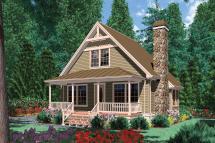 Cottage Plan 950 Square Feet 1 Bedroom Bathroom