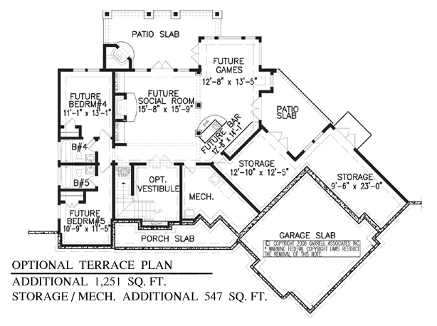 Mountain Rustic Plan: 1,949 Square Feet, 3 Bedrooms, 3