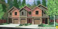 Home Building Architectural TriPlex Floor Plans & Designs ...