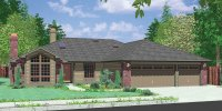 Ranch House Plans, American House Design, Ranch Style Home ...