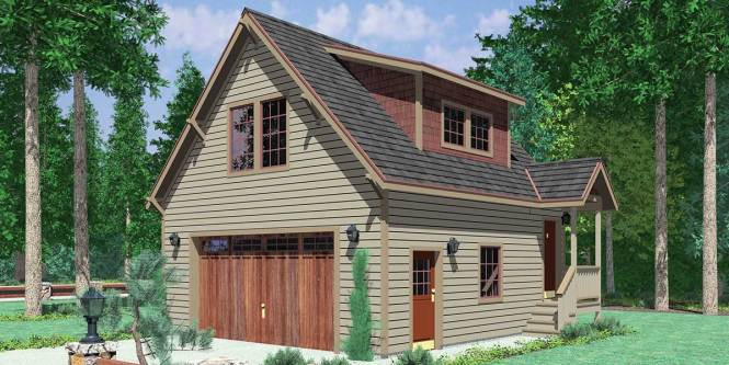 Garage Apartment Plans Is Perfect For Guests Or Agers