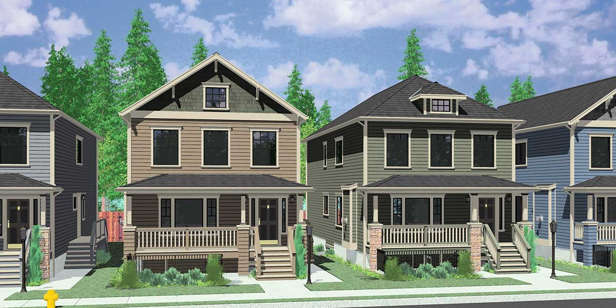 multi-generational house plans, 8 bedroom house plans, d-592