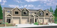 Duplex Home Plans & Designs for Narrow Lots | Bruinier ...