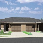 One Story Ranch Style House Home Floor Plans Bruinier Associates