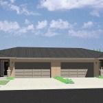 Duplex House 4 Plex Floor Plans Triplex Designs Bruinier Associates