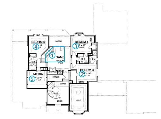 European Manor House Plan Review