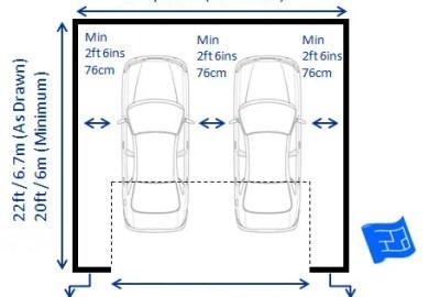 Double Garage Door Dimensions