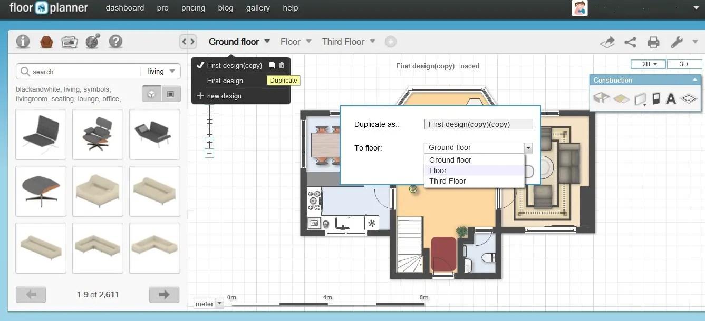Free Floor Plan Software  Floorplanner Review