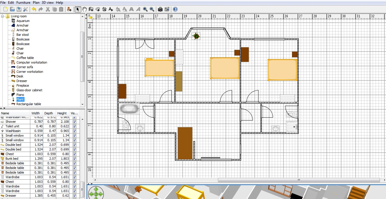 More than 1313 downloads this month. Free Floor Plan Software Sweethome3d Review