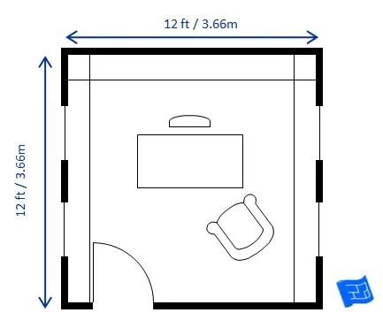 Home Office Floor Plans