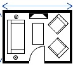 Size Of A Living Room Furniture Placement Rectangular Thumbnail
