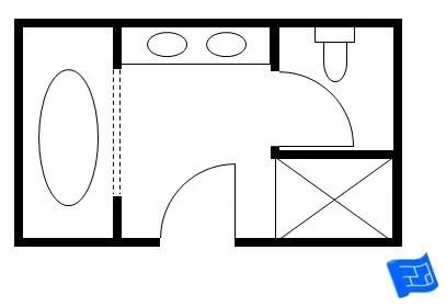 Master Bathroom Floor Plans