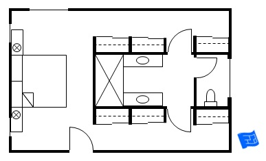 Master Bedroom Bathroom Closet Floor Plans Bedroom Style Ideas