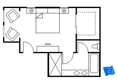 master bedroom floor plans
