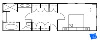 Master Bedroom Plans With Walk In Shower