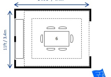Dining Room Table Dimensions To Seat 6