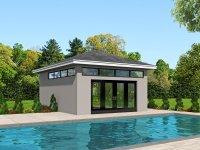 Pool House Plans | House Plans Plus