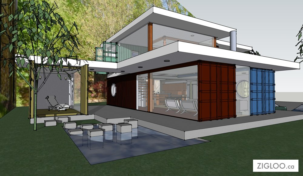 Eco Conscious Shipping Container Homes Designed By