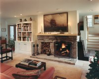 Houses and Barns | Post and beam classic home