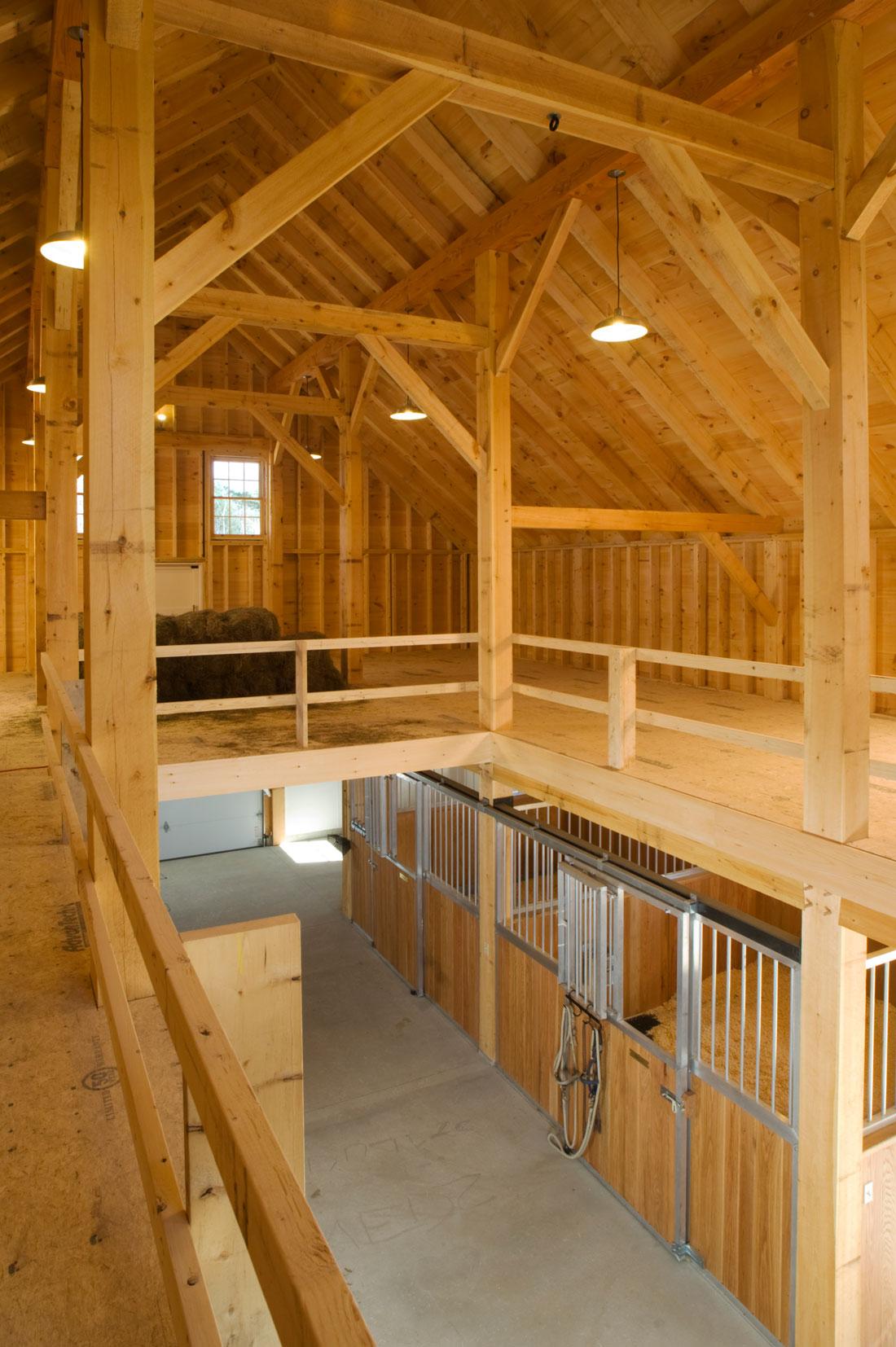 Houses and Barns  Cumberland horse barn