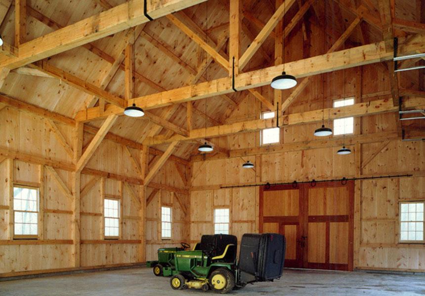 Houses And Barns Timber Frame Barn Builder
