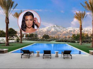 Kourtney Kardashian Palm Springs house