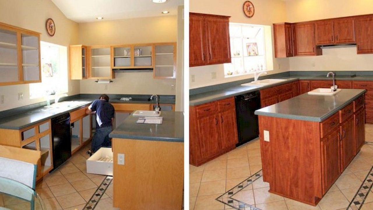 Kitchen Cabinet Refacing Give Your Kitchen Cabinets A Makeover