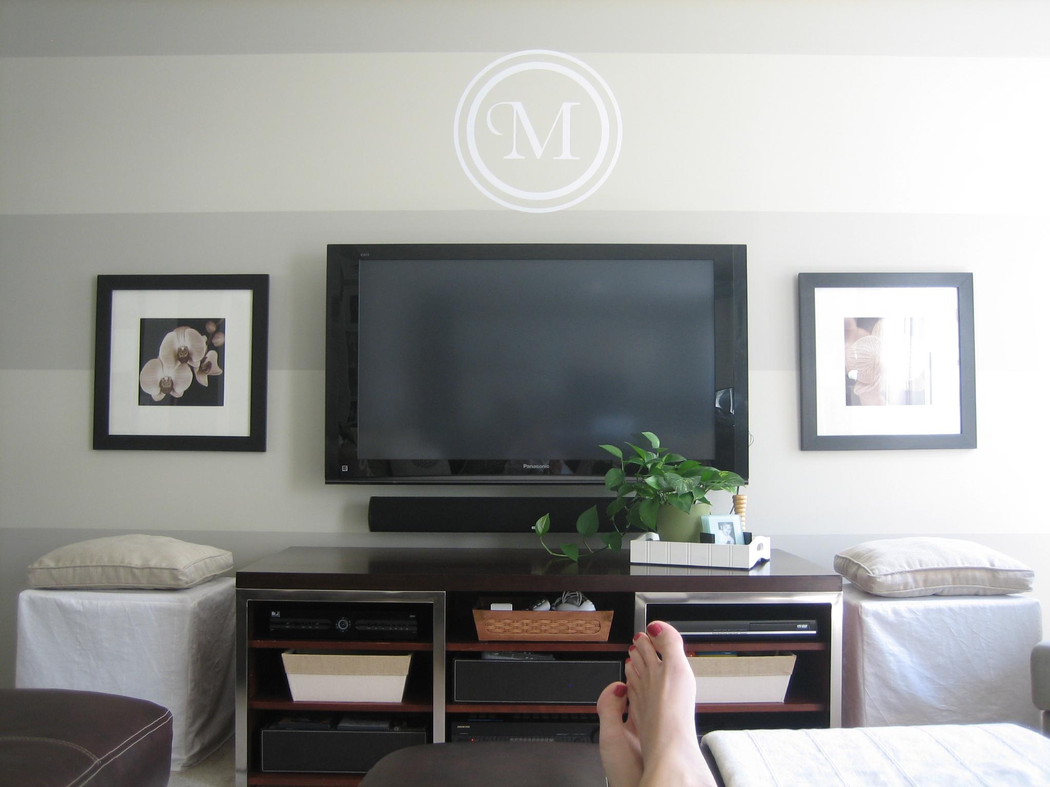 Flat Screen Tv On Wall Bedroom