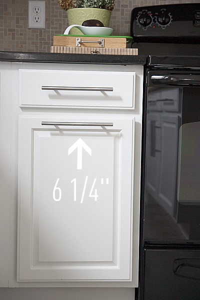 kitchen trash can sizes sinks reviews house*tweaking