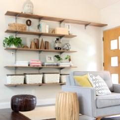 Diy Shelves In Living Room Best Rooms Images House Tweaking Lr Shelf 3