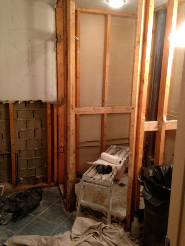 MCM family master bath progress 1