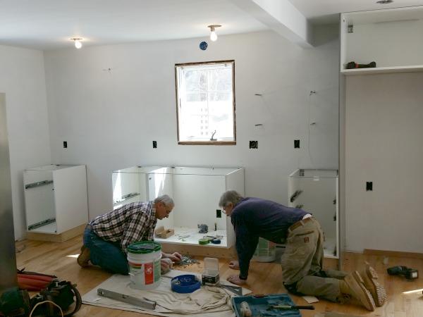 boston ikea kitchen progress 2
