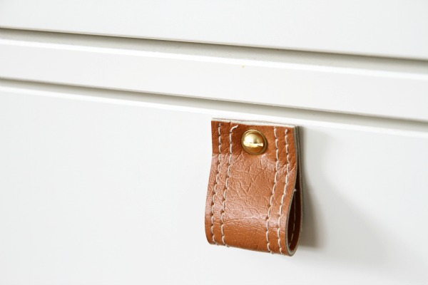 DIY leather pull 9