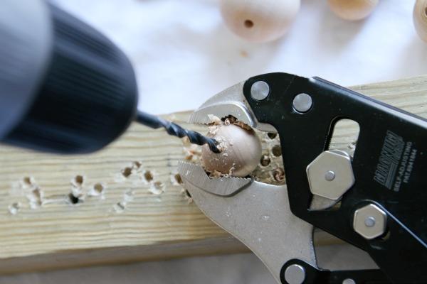 wood bead strand 2