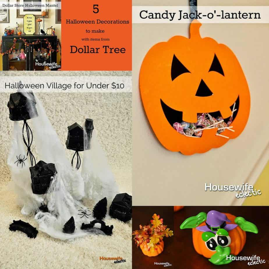 5 Halloween Decorations from the Dollar Store