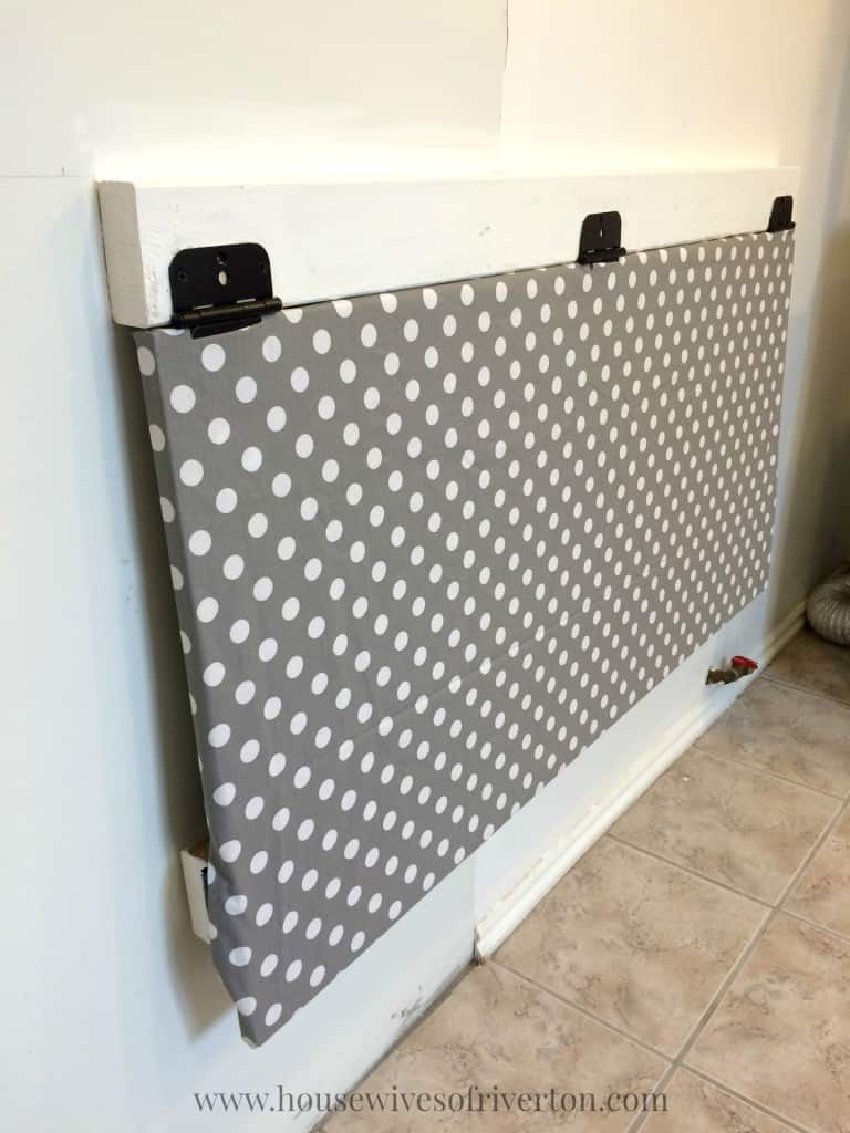 Small Fold Down Laundry Table