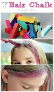 chalk hair housing forest
