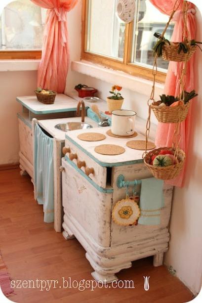 10 DIY Play Kitchen Ideas Housing A Forest